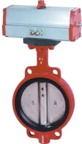 ANSI Pneumatic Butterfly Valve:Flanged End,EPDM,150lbs~600lbs