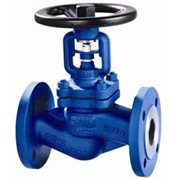 GB Bellows Sealed Globe Valve:Flanged End,JB/T79,PN16~PN25