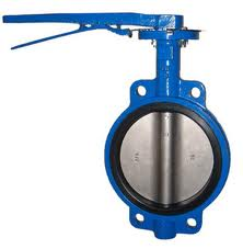 Wafer Butterfly Valve: Cast Iron,ANSI B16.10,NPS 2