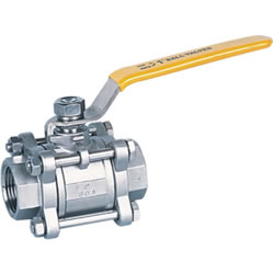 3-Piece Forged Steel Ball Valve, ASTM A304, BW