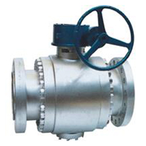 API 6D Forged Steel Ball Valve, ANSI B16.5 Flange