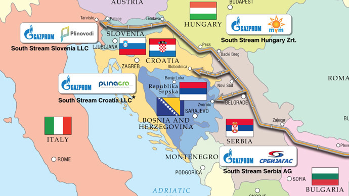 Bulgaria, Hungary Support South Stream Gas Pipe