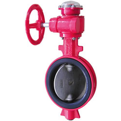 Cast Iron Wafer Signal Butterfly Valve