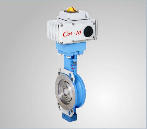 Electric Three Eccentric Control Valve, SS Seal Ring