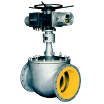 Electric Track Control Valve, WCB, Bonnet Welded