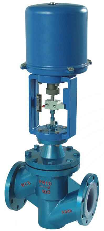 Electric Wafer Fluorine Control Valve, HT200, DN50-400
