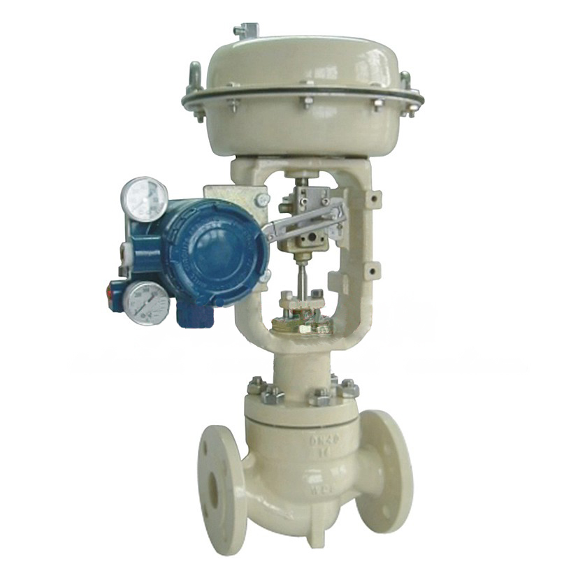 Flanged Cage Single-seat Control Valve, ANSI B16.5
