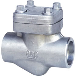 Sock Welded Check Valve, Forged Steel, MSSP-118