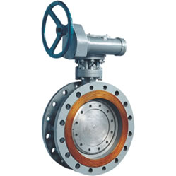 Three Eccentric Multilevel Hard Seal Butterfly Valve