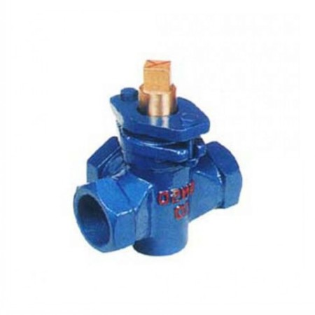 Three-way Copper Core Internal Threaded Plug Valve
